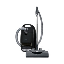 Miele Complete C3 Kona Canister Vacuum-Corded - Obsidian Black
