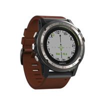 Garmin D2 Charlie - Titanium Bezel with Leather and Silicone Bands - 010-01733-30