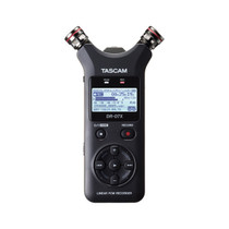 Tascam DR-07X Stereo Handheld Digital Audio Recorder and USB Audio Interface - Black