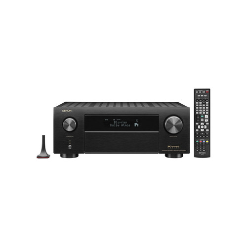 Denon AVR-X4500H 9.2 Ch. 4K AV Receiver with 3D Audio and Alexa Voice Control