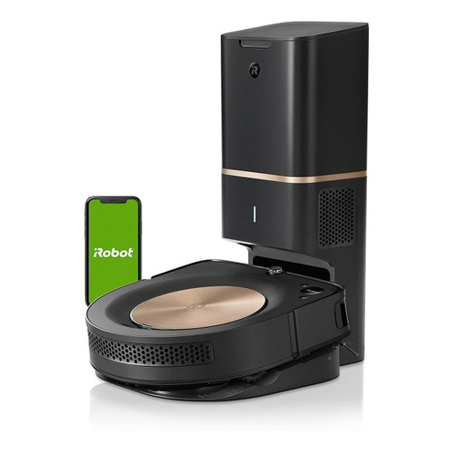 iRobot Roomba s9+ (9550) Wi-Fi Connected Robot Vacuum with Clean Base - Automatic Dirt Disposal