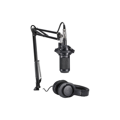 Audio-Technica AT2035PK Vocal Microphone Pack for Streaming & Podcasting (Black)