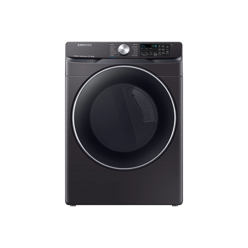 Samsung DVG45R6300V - 7.5 cu. ft. Fingerprint Resistant Black Stainless Gas Dryer with Steam Sanitize+