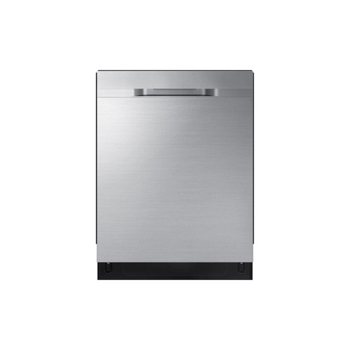 Samsung DW80R5060US - 24 in Top Control StormWash Tall Tub Dishwasher in Fingerprint Resistant Stainless Steel with AutoRelease Dry