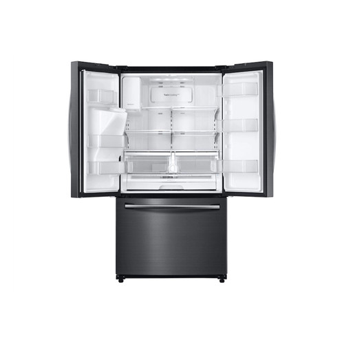 Samsung RF263BEAESG - 24.6 cu. ft. French Door Refrigerator in Fingerprint Resistant Black Stainless