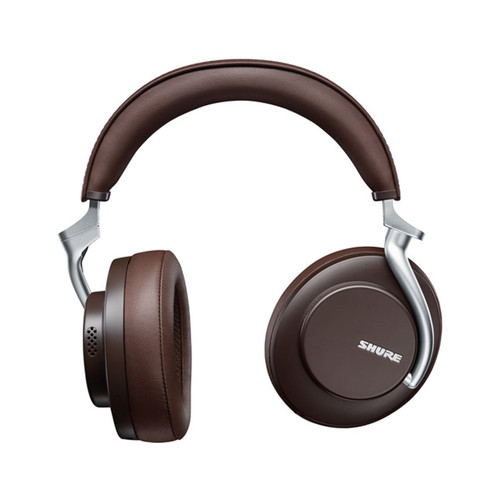 Shure AONIC 50 Wireless Noise Cancelling Headphones - Premium Studio-Quality Sound - Brown