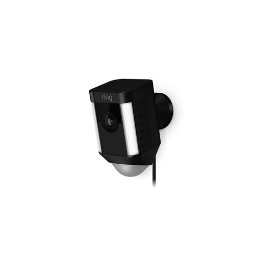 Ring Spotlight Security Cam Wired (Black)