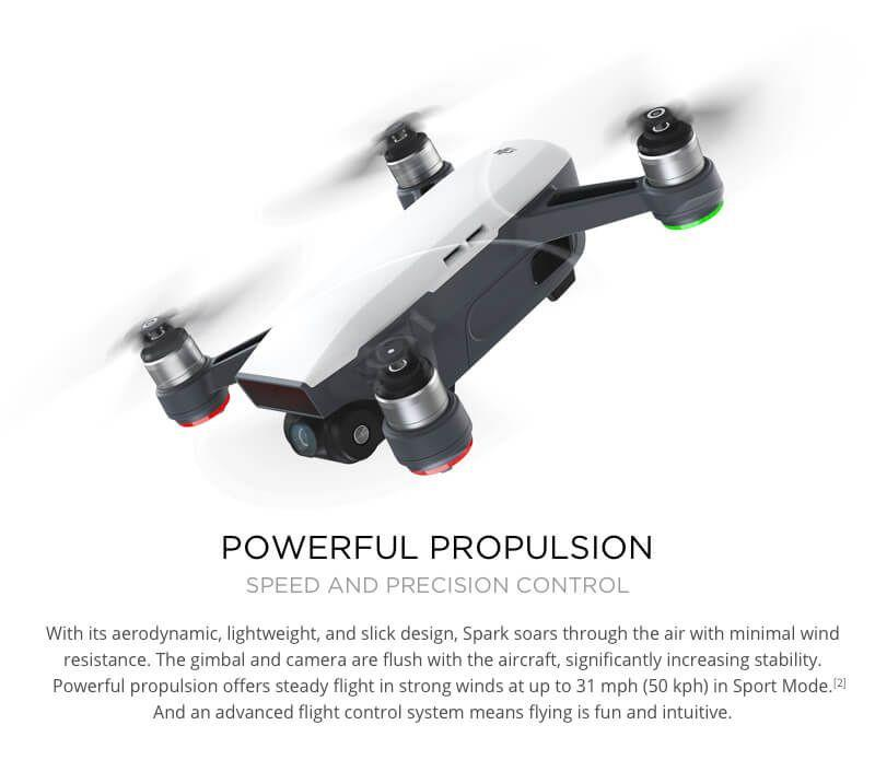 DJI Spark with Remote Control Combo