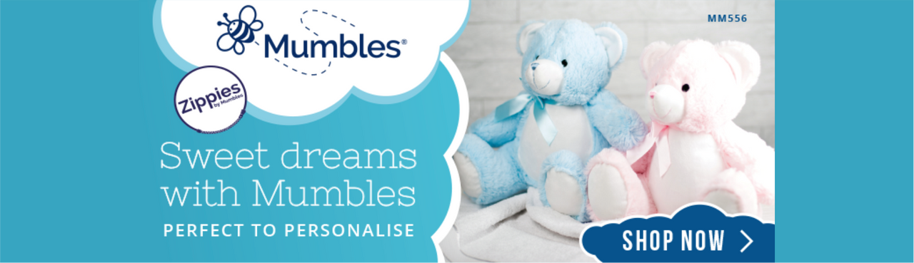 Mumbles Plush Gifts from Irontree Designs