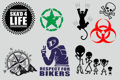 vinyl decal, any size for car, boat, windows, motorcycle