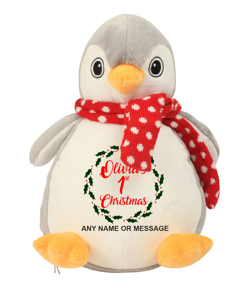 mm566 penguin 1st christmas