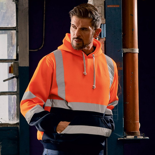 Yoko Hi Vis Pull-over Hoodie from IronTree Designs