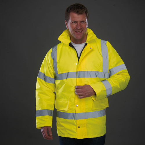 Yoko Hi Vis Classic Motorway Jacket from IronTree Designs