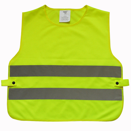 Yoko Kids Hi Vis 2 Band Tabard from IronTree Designs