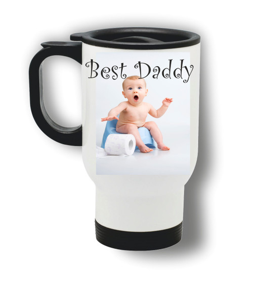travel mug_baby daddy design