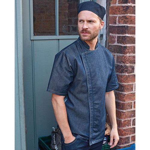 PR906 zipped chef jacket