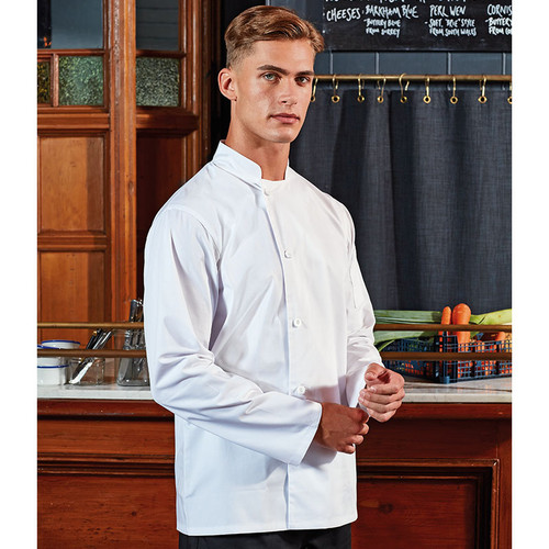 PR901 essential long sleeve chef jacket