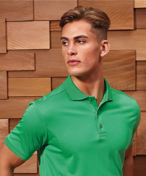 PR615 Premier Coolchecker® Piqué Polo Shirt