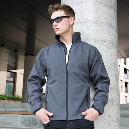 RS231M Result Core Printable Soft Shell Jacket