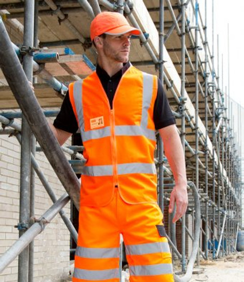 RS202 - Result Core Zip Safety Tabard by IronTree Designs