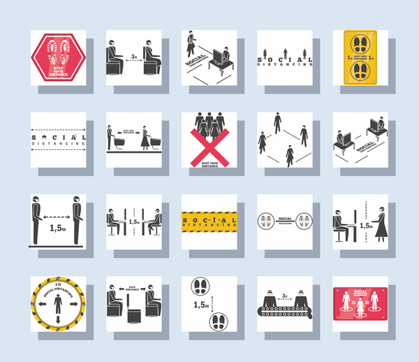 A4 Sticker Sheets - Fully Customizable - (Square Stickers)
