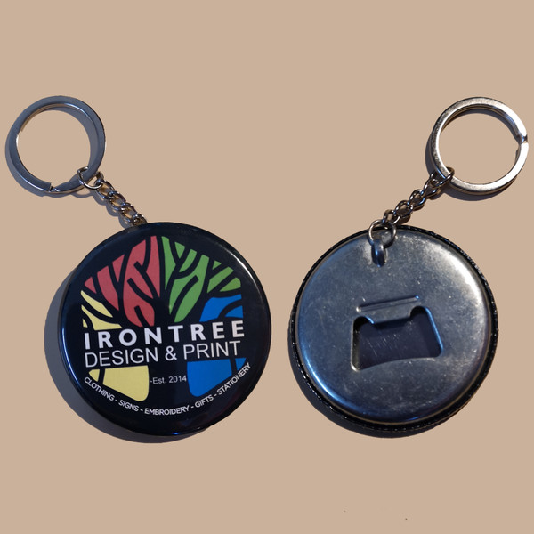 Keyring Bottle Openers from IronTree Designs