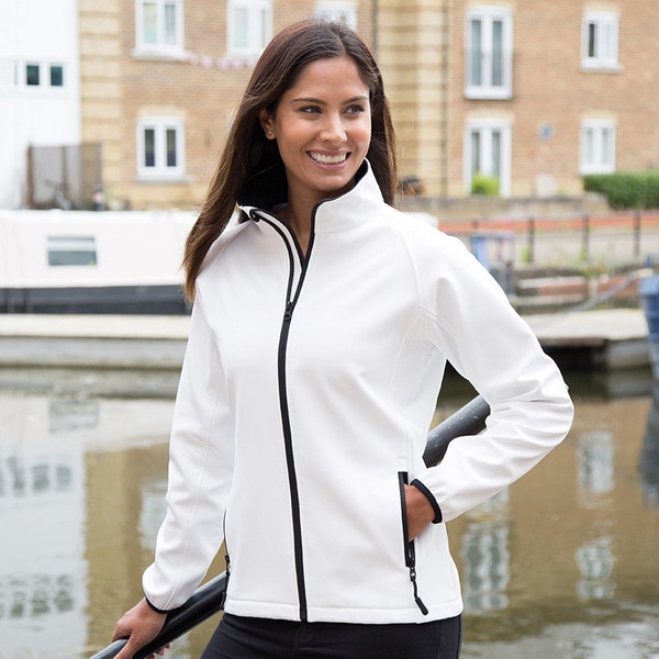 RS231F Result Core Ladies Printable Soft Shell Jacket