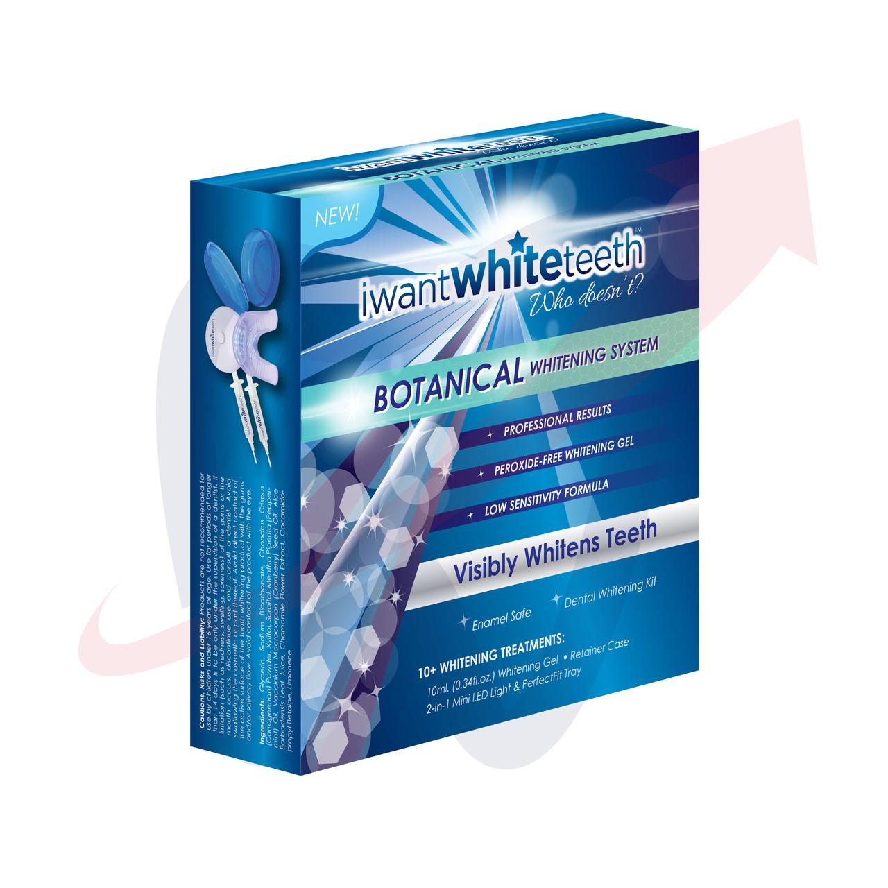 Botanical Teeth Whitening Kit Iwantwhiteteeth Wsd Labs Usa