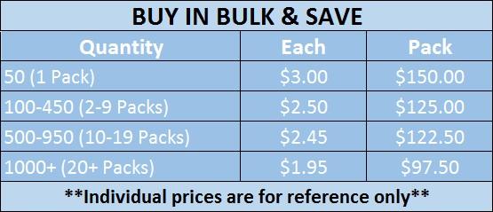 bulk pricing standard white blue 1 led light
