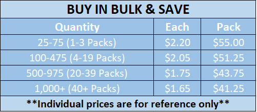 new bulk pricing