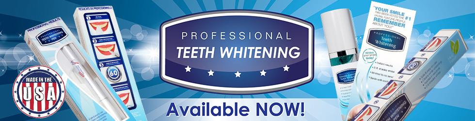 Generic Professional Teeth Whitening Products Banner