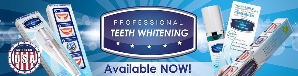 Professional Teeth Whitening Banner