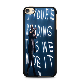 Drake At The Austin City Music Festival iPod Touch 6 Case