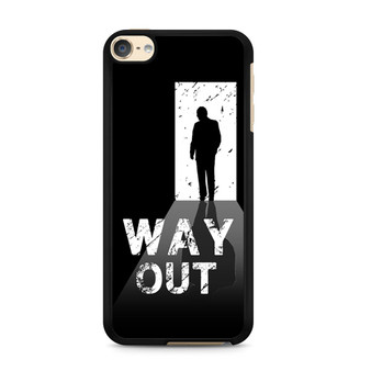 Way Out Escape Game Poster iPod Touch 6 Case