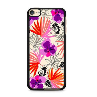 Abstract Leaf Pattern iPod Touch 6 Case
