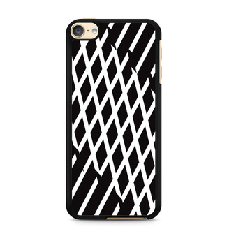 Abstract Line Black And White iPod Touch 6 Case