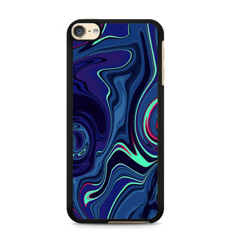 Abstract Color Paint Blue iPod Touch 6 Case
