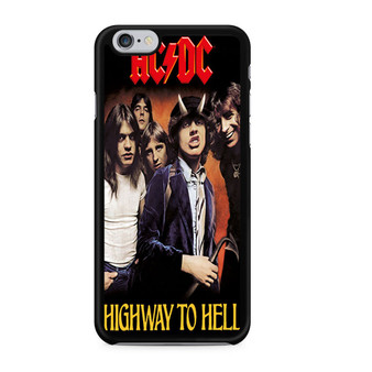 ACDC Highway To Hell Poster iPhone 6/6 Plus Case