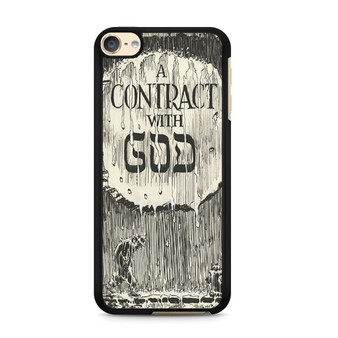A Contract With God Book iPod Touch 6 Case
