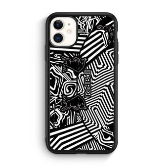 Red Bull Black And White Line iPhone 11/11 Pro/11 Pro Max Case