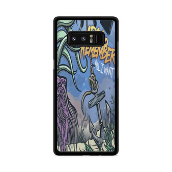 A Day To Remember All I Want Samsung Galaxy Note 8 Case
