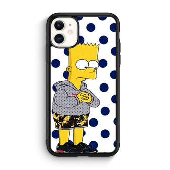 Bart Simpsons Supreme iPhone 11/11 Pro/11 Pro Max Case