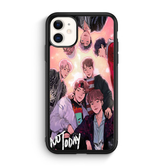 BTS Not Today Fanart iPhone 11/11 Pro/11 Pro Max Case
