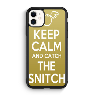 Harry Potter Quotes Keep Calm And Catch The Snitch iPhone 11/11 Pro/11 Pro Max Case
