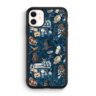 Harry Potter Ravenclaw Art Pattern iPhone 11/11 Pro/11 Pro Max Case