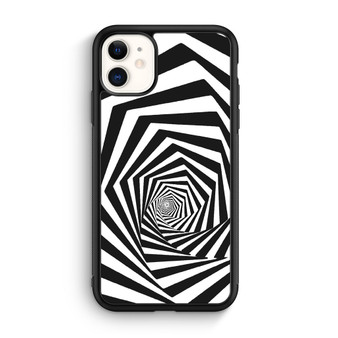Abstract Spiral Square iPhone 11/11 Pro/11 Pro Max Case