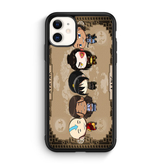 Avatar The Legend Of Aang Chibi Art iPhone 11/11 Pro/11 Pro Max Case