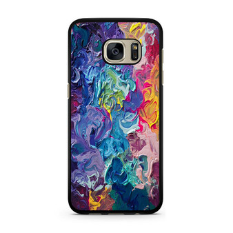 Abstract Color Painting Samsung Galaxy S7/S7 Edge Case