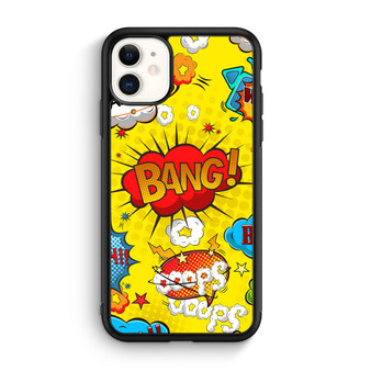 Comic Speech Bubbles iPhone 11/11 Pro/11 Pro Max Case