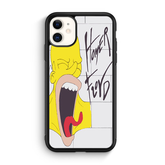 Homer Floyd Homer Simpson And Pink Floyd iPhone 11/11 Pro/11 Pro Max Case